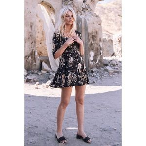 Spell & The Gypsy Collective Dresses - Spell and the Gypsy Coal Rosa 90's Dress